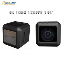 RunCam 5 12MP Smallest 4K Cam HD Recording 145 Degree NTSC/PAL 16:9/4:3 Switchable FPV Action Camera Bulit-in Battery Mini Cam(China)