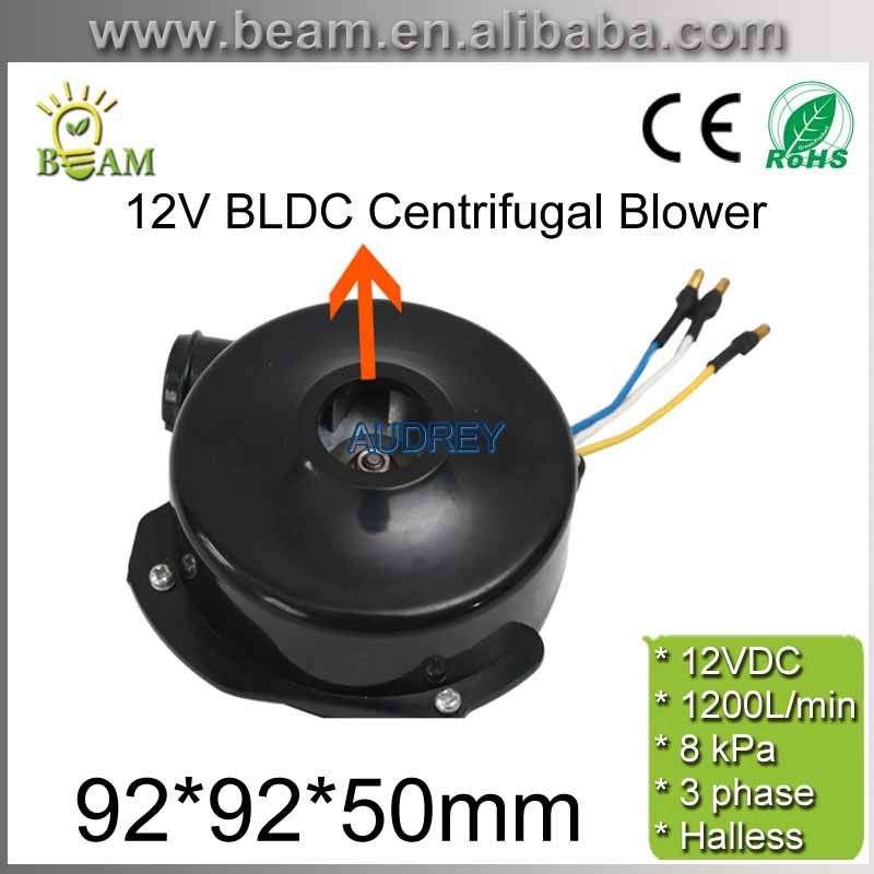 FREE SHIPPING 12v 800LPM 22000rpm 3phase Brushless DC Powerful Fan Mini BLDC Centrifugal Electric Air Blower with 7kPa Pressure free shipping 24v brushless dc centrifugal motor internal drive for planter 1200lpm 150w 8kpa high pressure fan with hall sensor