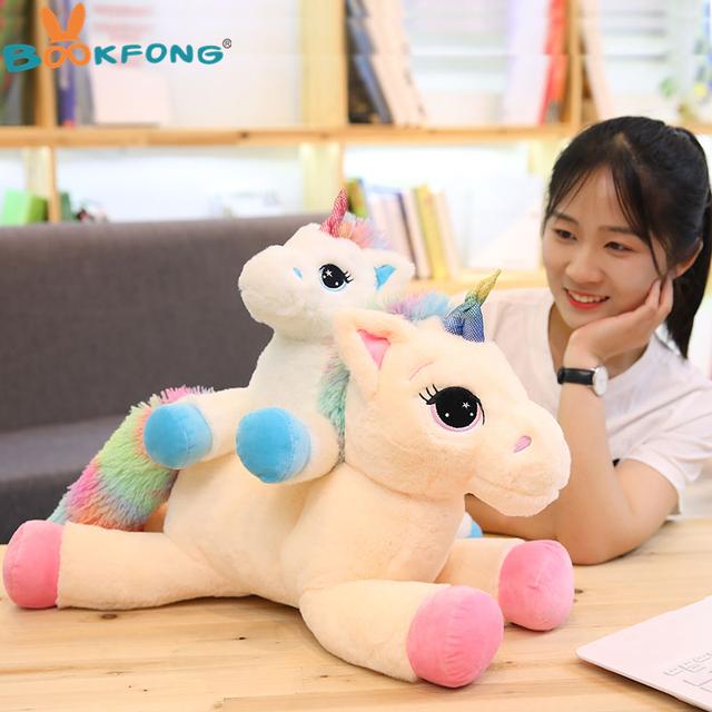 Unicorn Stuffed Animals Plush toy Unicorn Animal Horse High Quality Cartoon Gift For Children