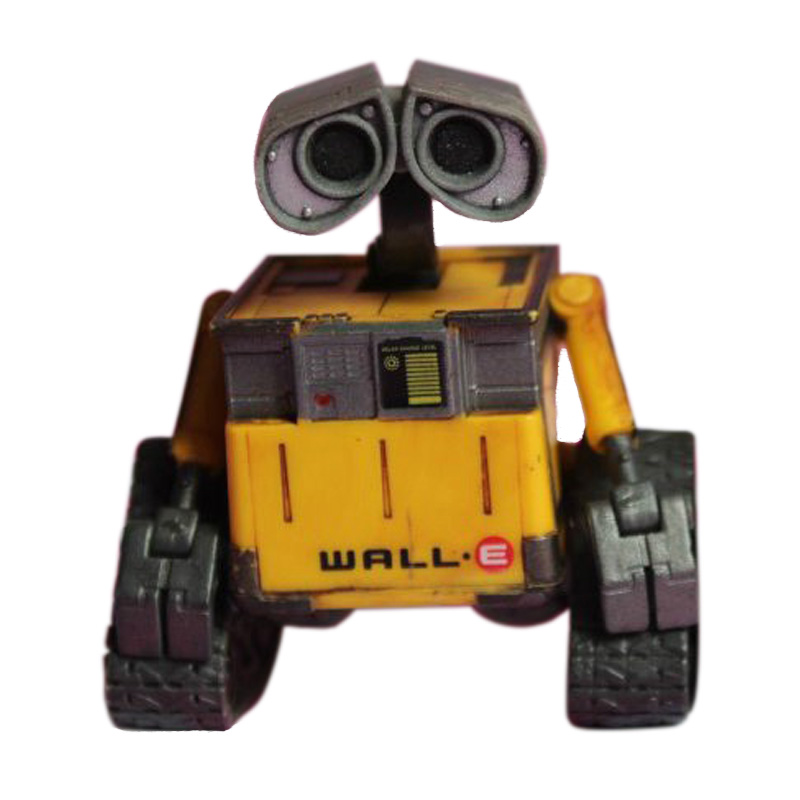 Free Shipping Wall-E Robot Wall E PVC Action Figure Collection Model Toy Doll 6cm OLD STYLE anime one piece dracula mihawk model garage kit pvc action figure classic collection toy doll
