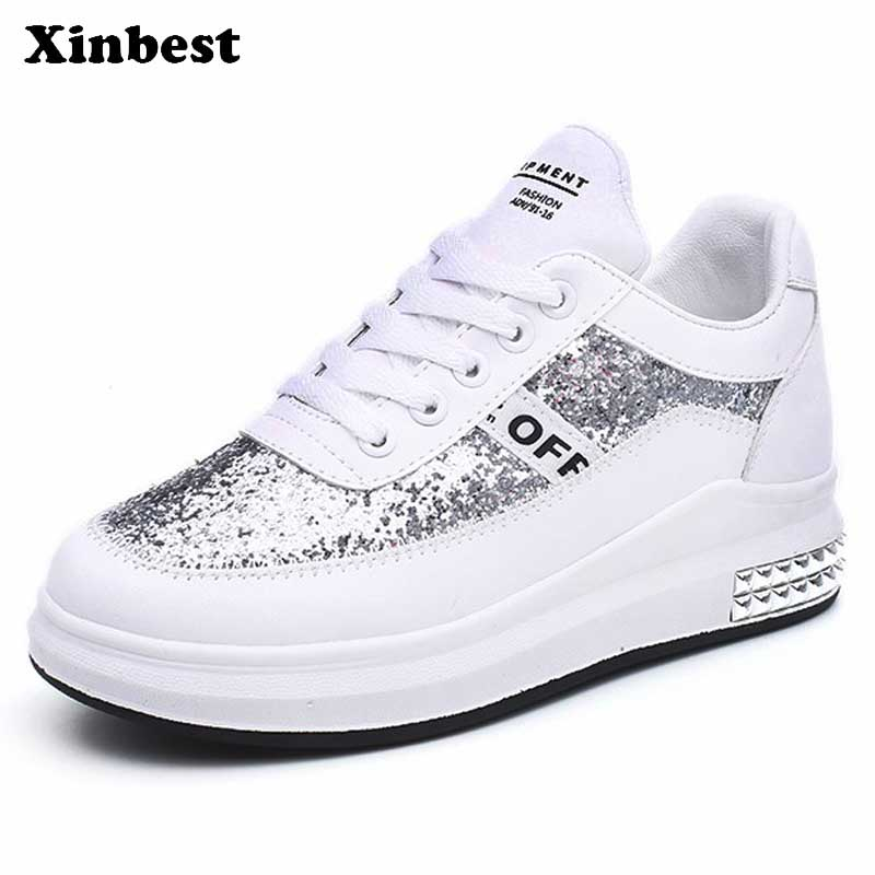 Xinbest Woman Brand Outdoor Athletic Fly line Fabric Women Running Shoes Comfortably Outdoor Jogging Allmatch Womens Sneakers