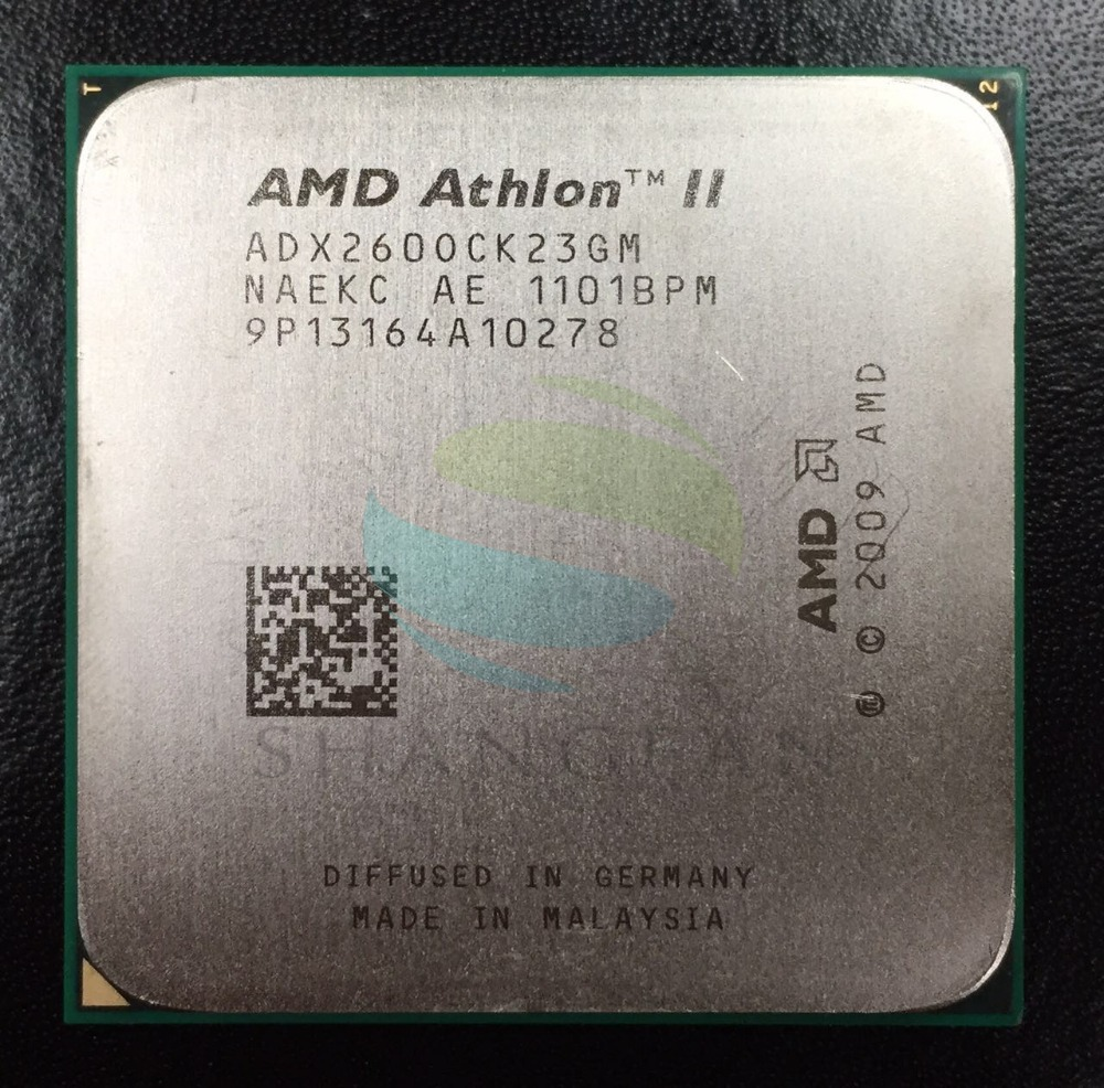 AMD Athlon II X2 260 3.2 GHz Dual-Core CPU Processeur ADX260OCK23GM Socket AM3 938pin