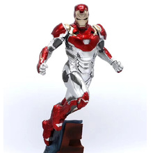 Marvel Legend Superhero Model Toys Collections Avengers Endgame Doll MK47 PVC Action Figure Iron Man Statue avengers infinity war statue superhero iron man bust tony half length photo or portrait resin action figure toy d260