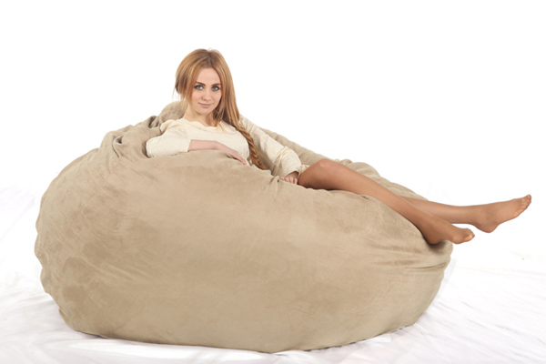 XXL Bean Bag Chair For Adult Bean Bags Lazy Bag COVER, Not Included  Fillings With High Quality MICRO SUEDE  In Bean Bag Sofas From Furniture On  ...