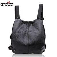 Women general leather backpack student flashes shoulder bag high quality bag