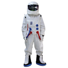 Hot Sale ! High Quality Space suit mascot costume Astronaut mascot costume with Backpack with LOGO glove,shoes(China)