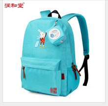 2016 New Cartoon embroidery Backpack School Satchel Children School Bags travel Waterproof Backpacks Girls School Backpacks