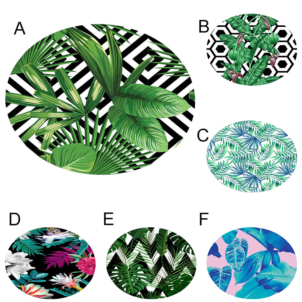 Hot Botany Elements Blanket Round