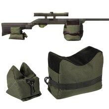 Подставка, наполненная песком, для винтовки отдыха снайперская охотничья Подставка Сумка для стрельбы охотничий Пистолет Аксессуары тактическая передняя/задняя Сумка для поддержки сумки