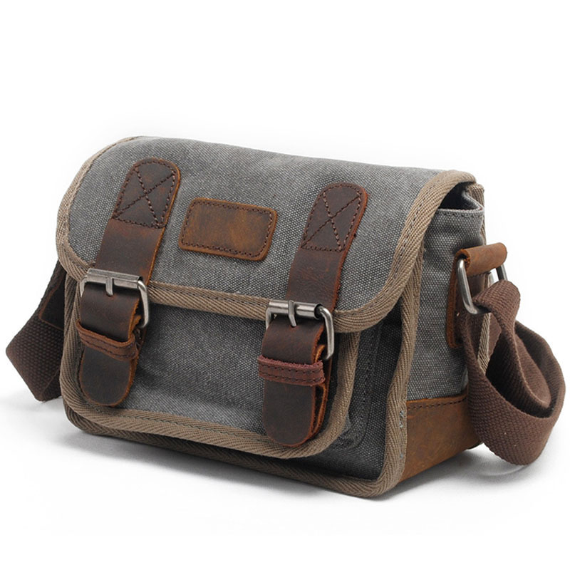 Women bag shoulder Messenger bags Vintage canvas Designer Small square bag Luxury high quality Casual travel Crossbody handbags vintage women bag high quality crossbody bags luxury designer large messenger bags famous brands female shoulder bag tassen flap