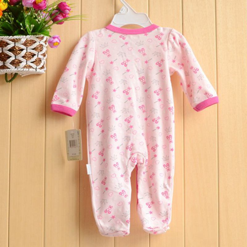 Long Sleeve Pink Leopard Body Baby Rompers Recem Nascido Ropa Macacao Bebe Newborn Baby Girl Romper Kids Clothes Infant Clothing