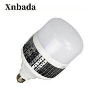 50W 80W High Power LED Lamp Light E27 220V 2835SMD LED Bulb Light For Warehouse Engineer Square Free shipping