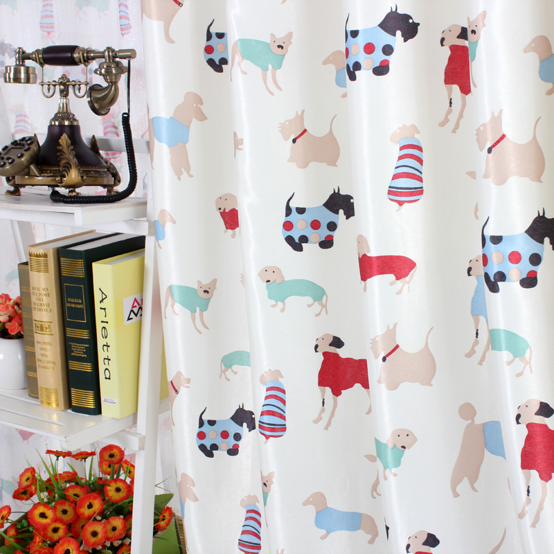 high quality morden kids bedroom living room curtains boys girls window curtains children curtains for cortinas