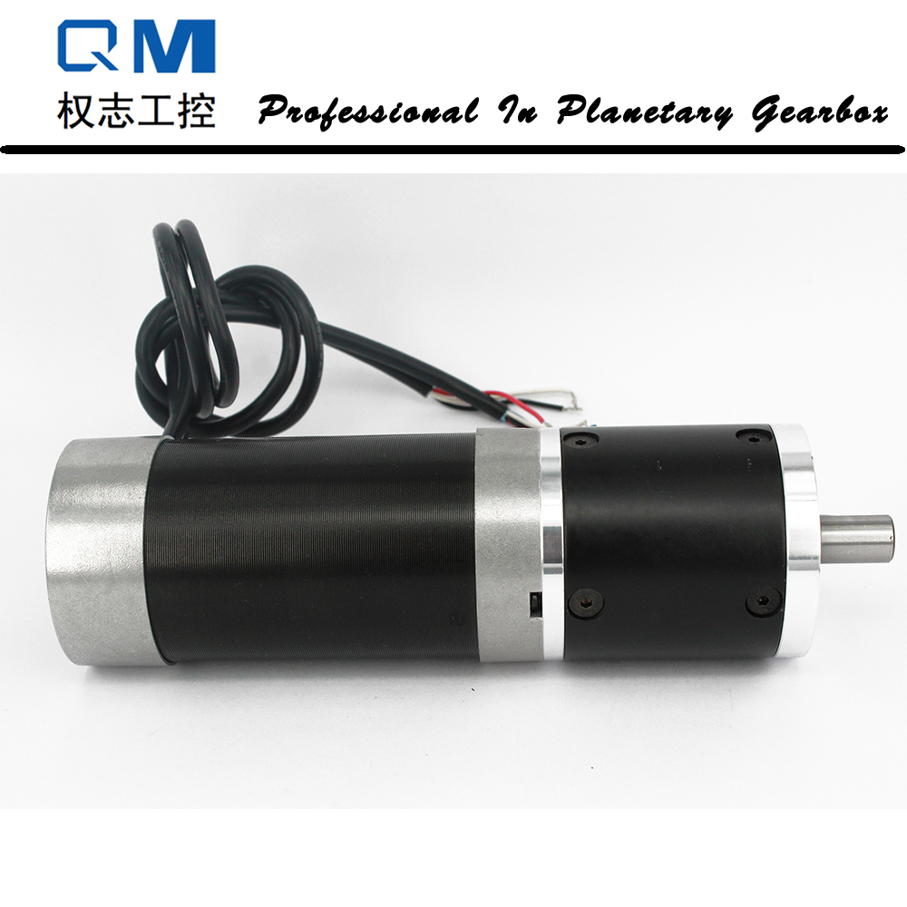 Nema 23 180W gear dc brushless motor bldc gearbox ratio 30:1 with BD15L driver