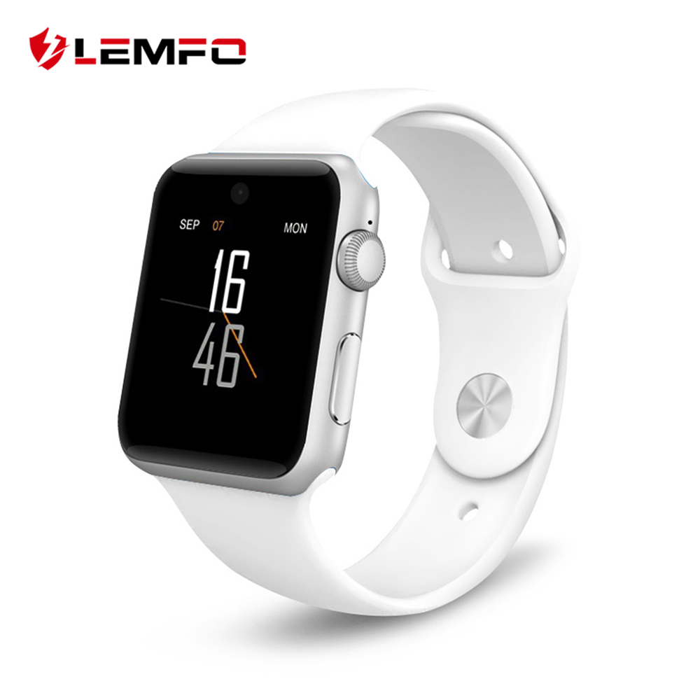 цена на LEMFO Colorful Screen Smart Watch For Apple Watch Compatible IOS Android Watches Sim Card Heart Rate Monitor Sport Smart Band