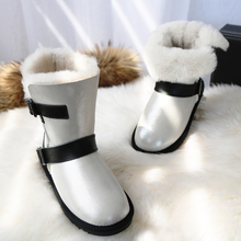 Luxury Winter Sheeoskin Boots Natural Wool  Knight Sheep Fur Women Genuine Leather Female Mid Calf Shoes