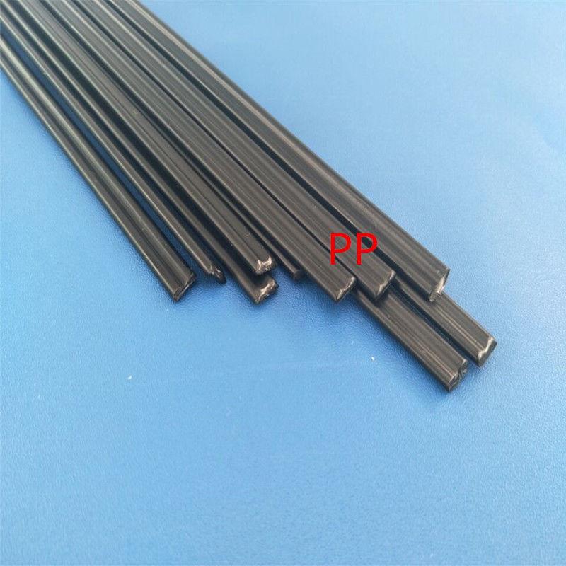 Plastic Welding Rods 300mm Length ABS//PP//PVC//PE Welding Sticks 5x2mm for Plastic Welder 40pcs