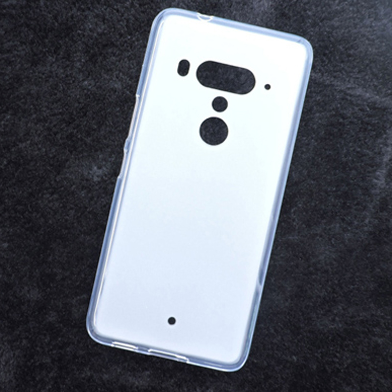 Soft Silicon Case for HTC U12 plus Cases Covers for u12+ Matte TPU Rubber Couqe for HTC U12 Plus