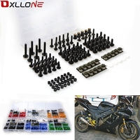 Motorcycle Windshield Fairing Bolts Nuts Screws Washer Kit Fastener Clips Screws 40PCS for honda CBR 600 F2,F3,F4,F4i CBR600RR