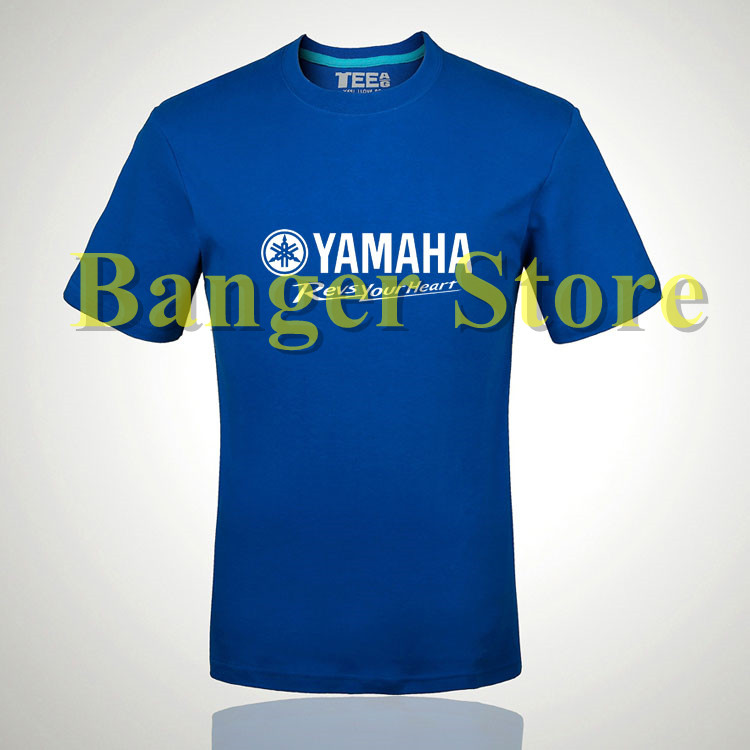 Yamaha motor cotton brand t shirt for women and men for Warson motors t shirt