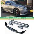 Z-ART PP Primer Preto Styling Kit Body Kit Amortecedor Do Carro Para Infiniti FX35 2009-2014 unpainted body kits