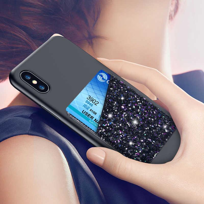 Floveme unversal Клей карты Стикеры для iPhone 6 S 7 8 плюс 5 х свет карты, карман для Samsung Galaxy s9 S8 плюс S7 Интимные аксессуары