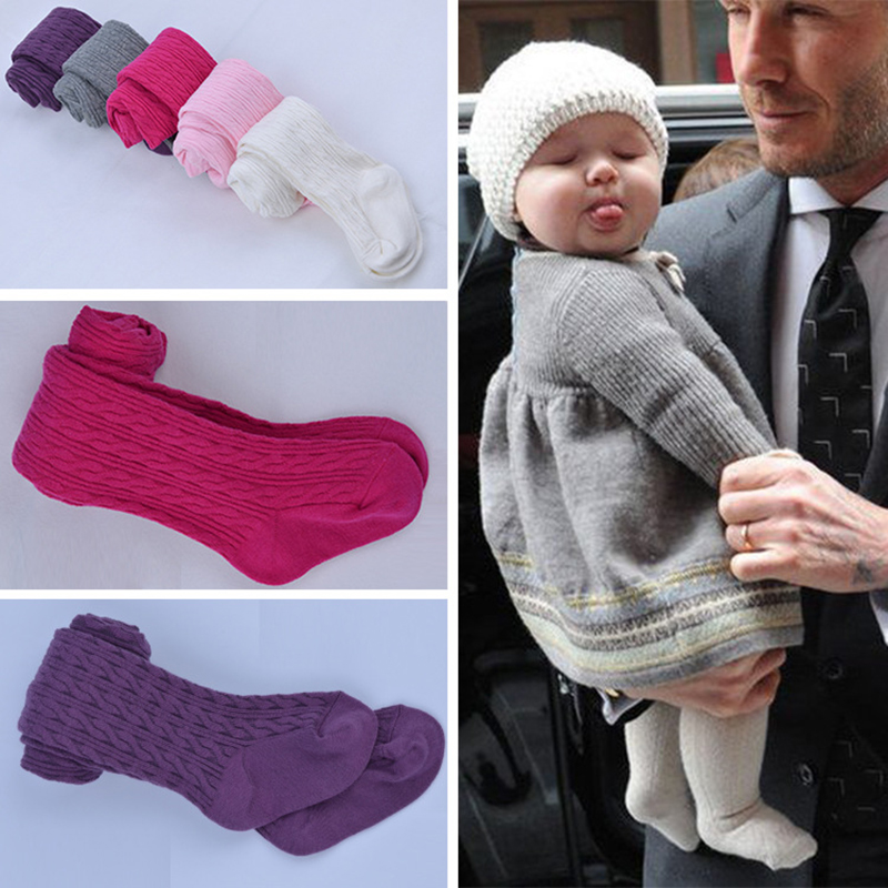 Baby Cotton Tights Pantyhose Baby Tights For Girls Warm Tights For Newborn Baby Stockings  5 Color