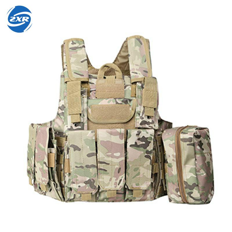 Military Tactical Hunting Vest Police Paintball Wargame Wear Molle Body Armor Hunting Vest Cs Outdoor Products Equipment