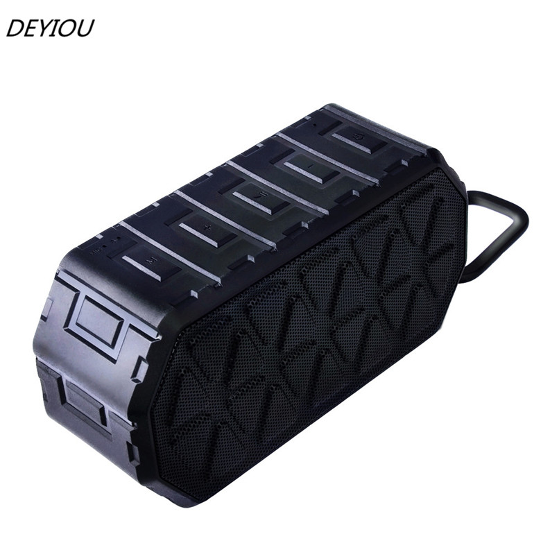 DEYIOU Qutdoor Portable Wireless Bluetooth Waterproof Speaker For Smartphone Free Shipping NOM08