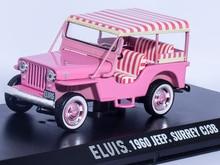 ELVIS 1960 Jeep Surrey CJ3B Greenlight 1/43 Die-cast Car Model Limited Edition