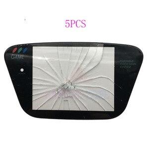 Image 3 - 5 pièces en verre matériau de protection écran de remplacement de lentille pour Sega Game Gear GG protecteur dobjectif