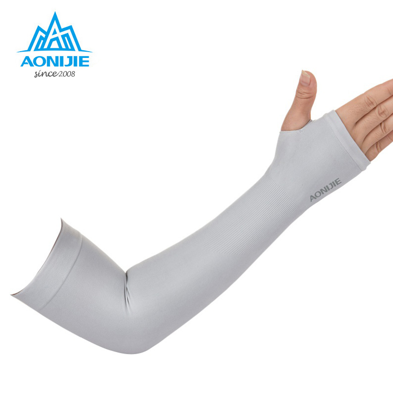 Aonijie 1 Pair Arm Warmers Outdoor Sports Hiking Cycling Arm Sleeves Sun UV Protection Bike Bicycle Ice Breathable 4039 sahoo 45545 outdoor cycling polyester arm sleeves white green pair xxl