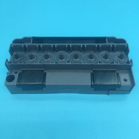 Solvent base F186000 DX5 printhead adapter Mutoh Galaxy Wit color gongzheng Lecai human printer DX5 head manifold cover