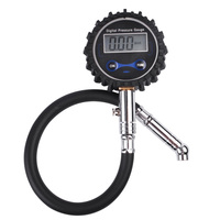 Free Shipping LCD Digital Tire Tyre Air Pressure Gauge Tester For Car Auto Motorcycle Bike PSI