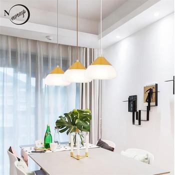 Moderno vidrio cabeza colgante lámparas E27 LED iluminación para comedor  habitación dormitorio cabecera restaurante >> Newrays lighting Store