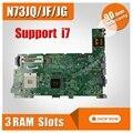 N73JQ материнская плата REV: 2 1 Для ASUS N73JG N73JQ N73JF материнская плата для ноутбука N73JQ материнская плата N73JQ материнская плата Тест 100% OK