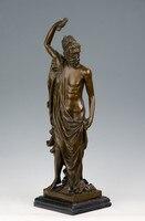 Atlie бронзы продаж греческой мифологии бронзовая скульптура Книги по искусству Бог коллекция статуя Рождество подарок