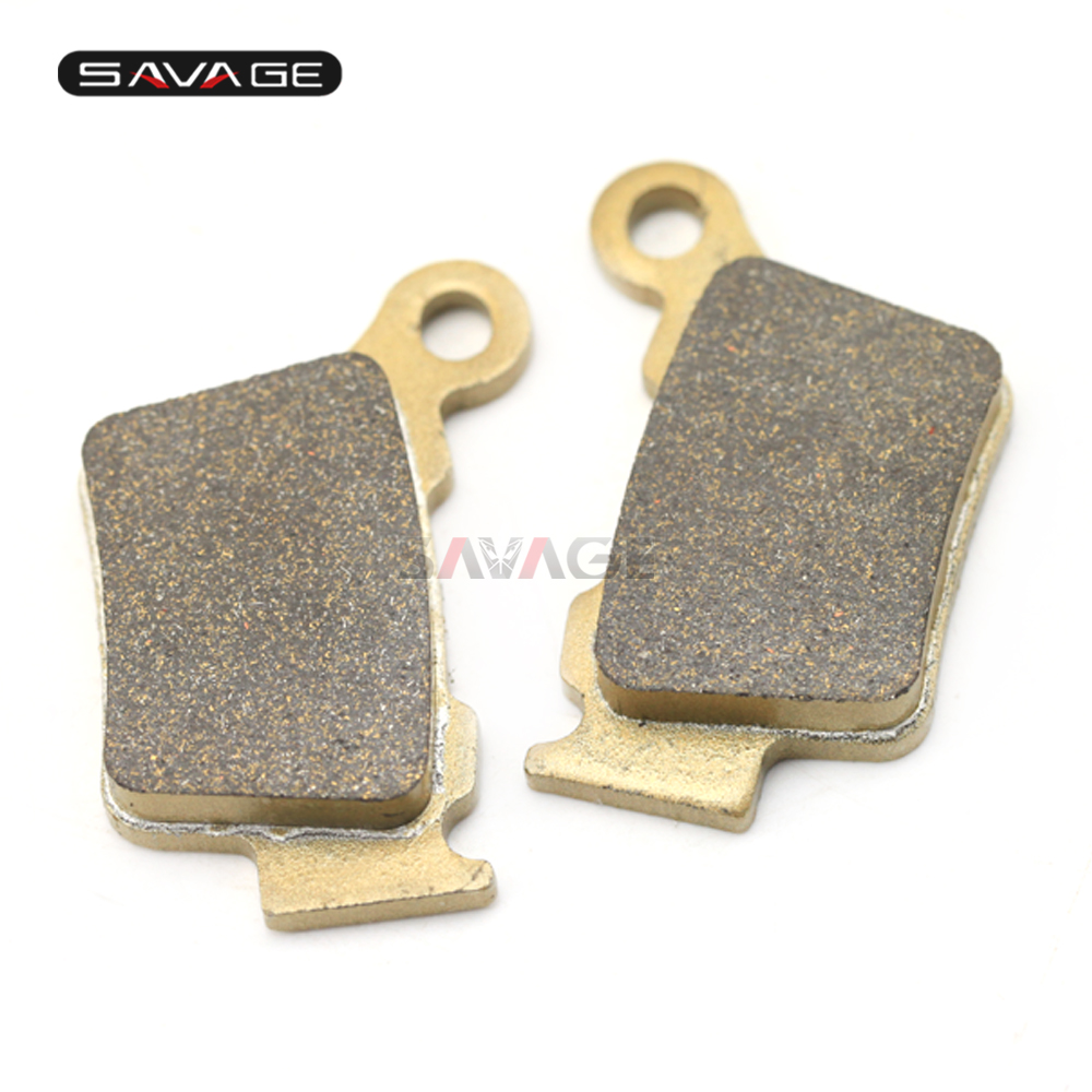 High Quality Rear Brake Pads Disks For KTM EXC-G400 450 525/EXC SIX DAYS 250-530/EXC-F 350 450 500 Motorcycle Accessories