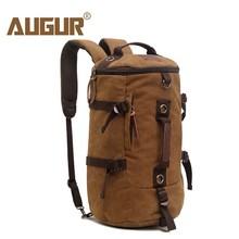 Купить с кэшбэком AUGUR Men Travel Duffle Bag Large Capacity Male Tourist Backpack Canvas Messenger Multifunction Shoulder Travel Bags