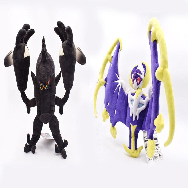 30*53cm Lunala 33*60CM Necrozma Beautiful Plush SUN & MOON Animal Stuffed Soft Hot Japanese Anime Action Figure Doll Toys Gifts