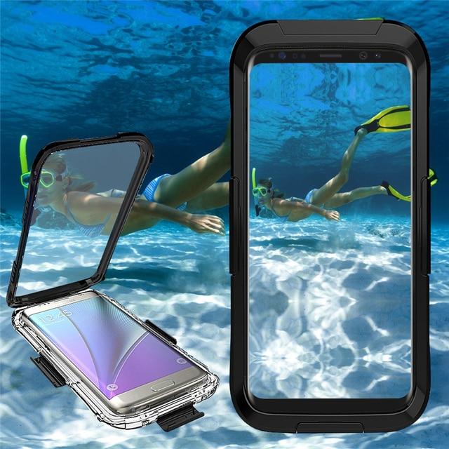 088f4d17f82 Caso de Telefone À Prova D  Água Universal Carcasas Coque Capa De Capinhas  Um Prova