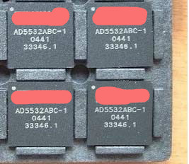 Büroelektronik 100% Wahr Freies Verschiffen 1 Teile/los In Lager Ad5532abc-1 Durchsichtig In Sicht