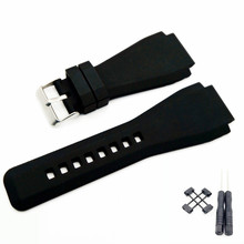 34*24mm Convex End Silicone Rubber Watch Band And Adapter For Suunto Core Series Strap Watchband Bracelet Belt  + Tool цена в Москве и Питере