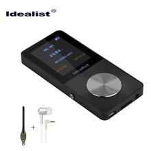 Идеалист HiFi Металл MP4 плеер встроенный Speaker1.8 дюймовый экран 4 ГБ MP4 поддержка TF Видео FM радио видеорегистратор Спорт браслет