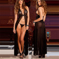 Lingerie Sexy mulheres trajes sexy deslizamentos intimate pijamas roupa interior sex toy Exotic lingerie gaze transparente peito divisão saia