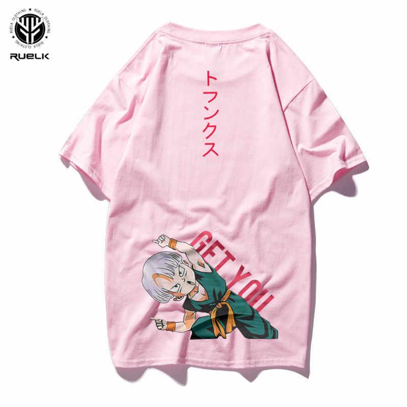 RUELK Dragon Ball T Áo Sơ Mi Nam Mùa Hè Top Dragon Ball Z Son Goku Cosplay Vui T-Shirts Anime Vegeta DragonBall áo thun Hàng Đầu