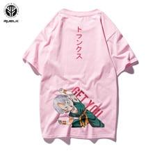 RUELK Bola de Dragón T camisa de los hombres de verano de Dragon Ball Z super Goku Cosplay camisetas Anime Vegeta DragonBall camiseta Top