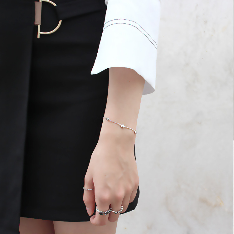 2019 925 Sterling Silver Bracelets For Women Elegant Beautiful Bangles S925 Silver Jewelry Gifts Pulseira Feminina Pulseras