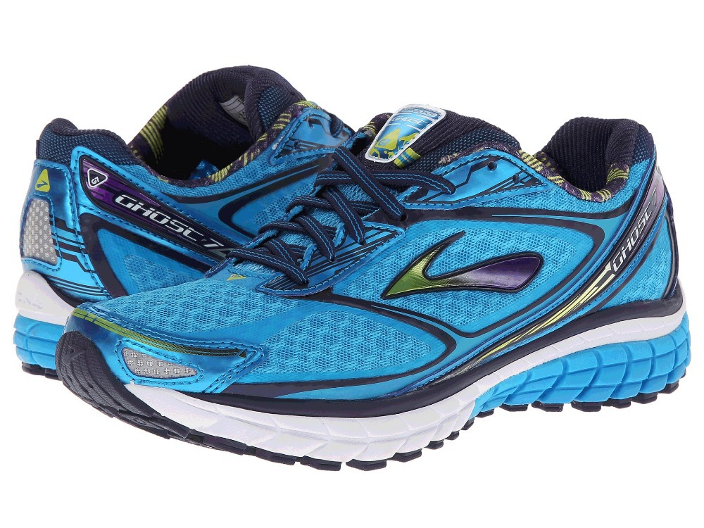 fadca094aed 2014 New arrival Brooks Women s Ghost 7 (after 6) Running shoes   Athletic  mesh shoes blue color Free shipping