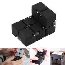 Creative 3D Infinite CubeAnti Stress Reliever Autism Toy for Anxiety Stress Relief Infinite Cube Fidget Magic